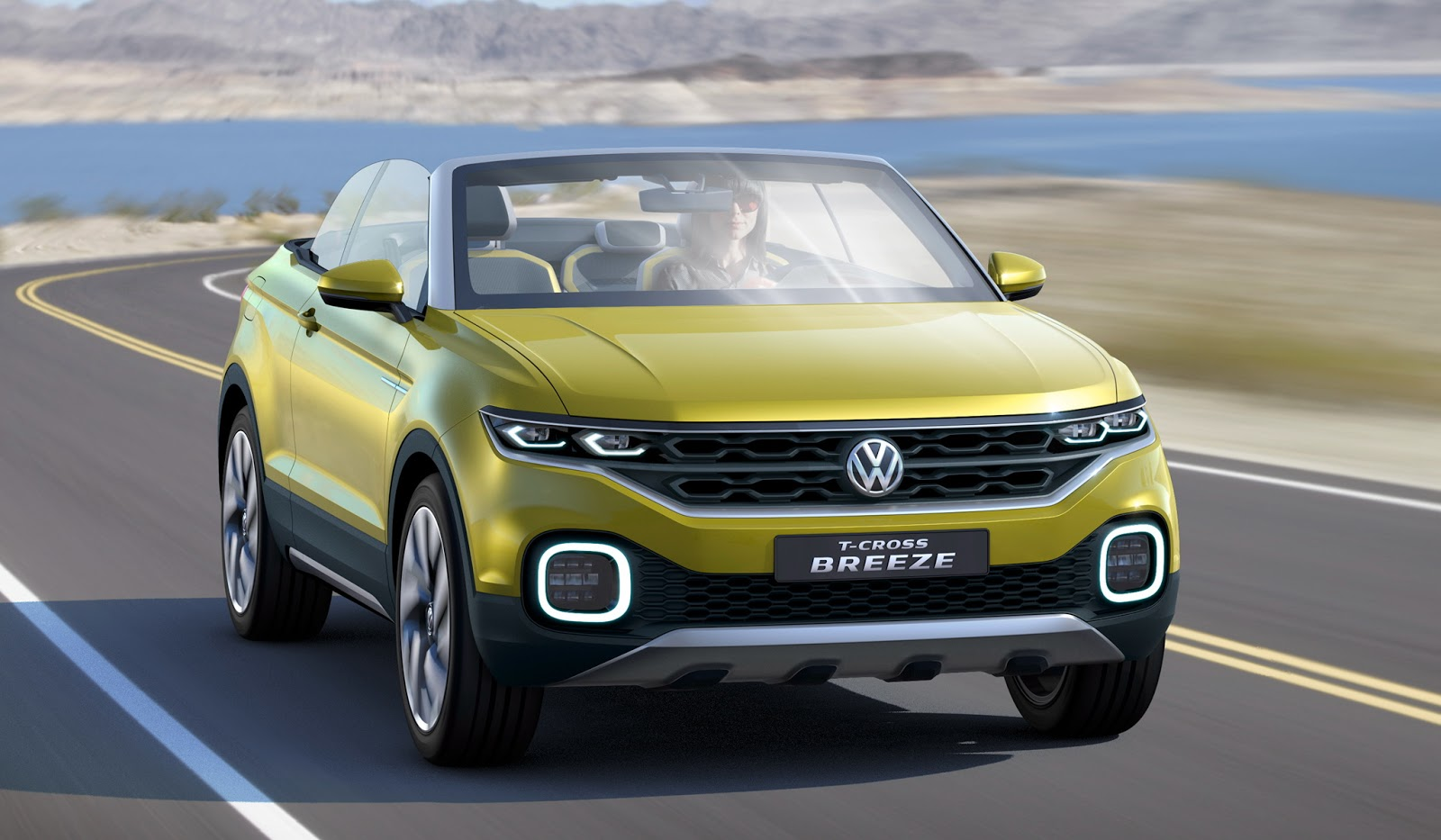 New VW T-Cross Breeze